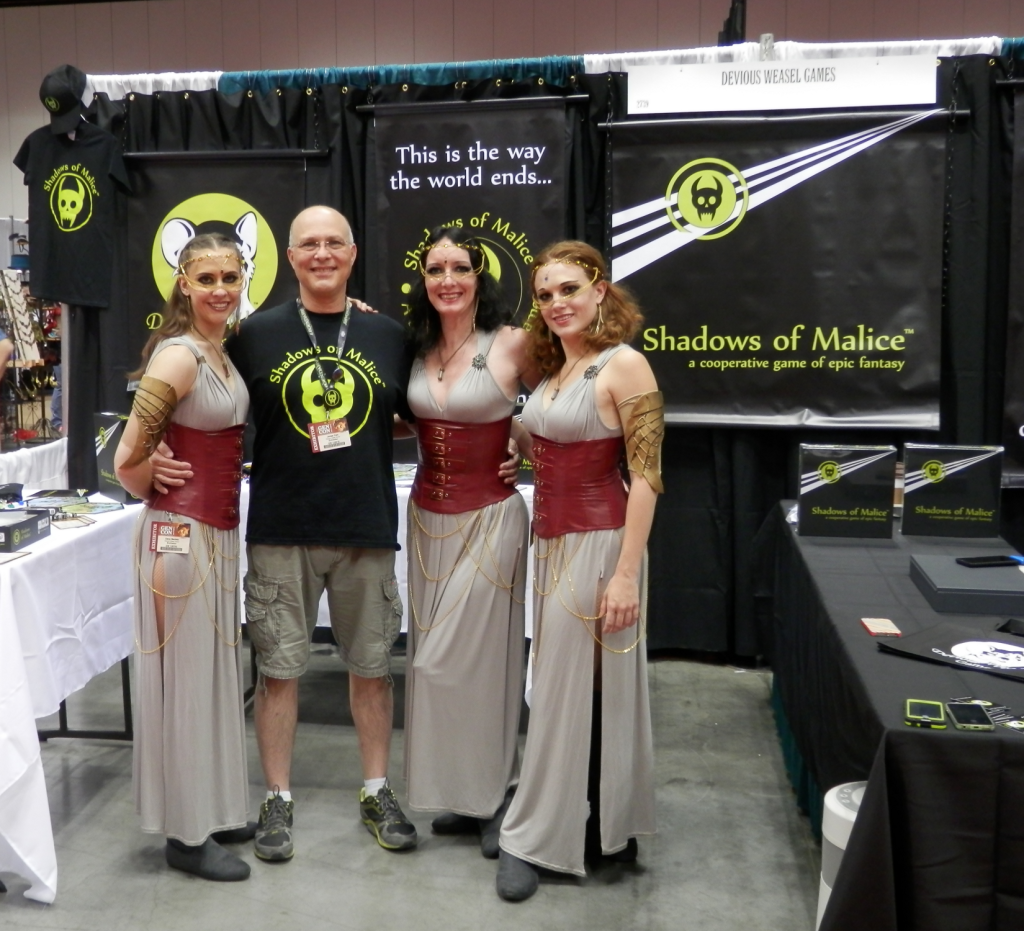 Gen Con 2015 Booth with Jim